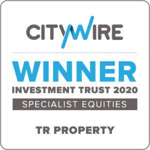 Label of winner investment trust 2020
