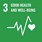 Logo of Good health and well being