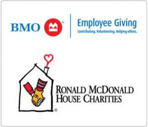 BMO&McDonald charitable giving logo