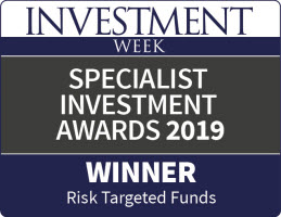 Label of Special Investment awards 2019 for Risk Targeted Funds
