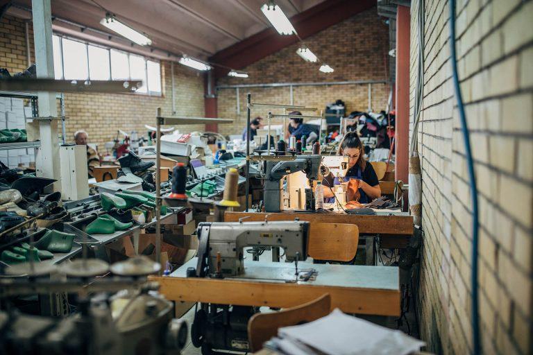 The tailor shop