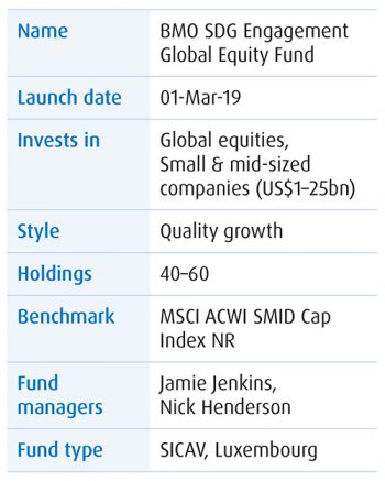 The table with Fund issue