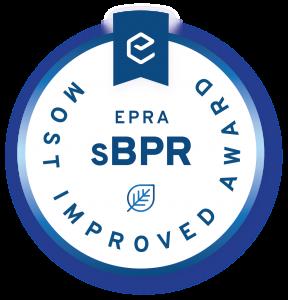Sbpr Most improved award medal