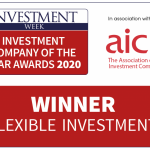 The logo of Investment Week