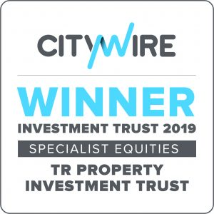 The logo of Citywire Winner