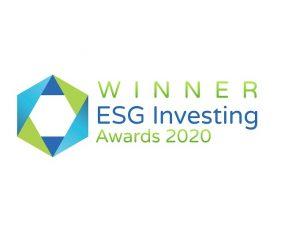 Winner in esg investing - awards 2020