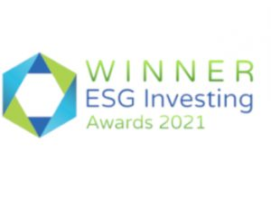 The logo of ESG Investing Awards