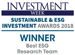 Sustainable Investment 2018
