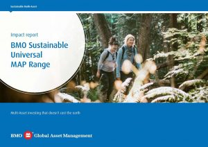 BMO sustainable universal MAP range - document cover