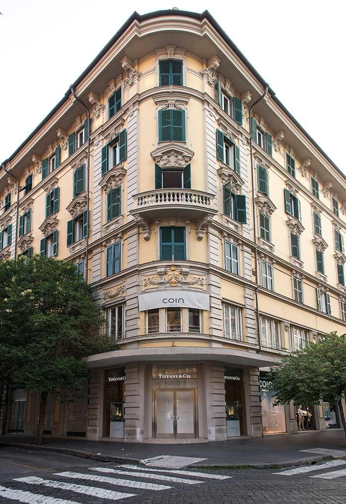 Tiffany & Co. store in Roma