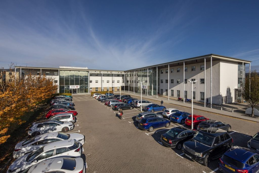 Parking at HSBC property