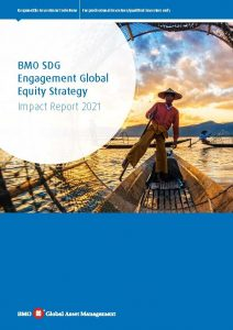 BMO SDG Engagement Global Equity Fund Impact Report_front cover